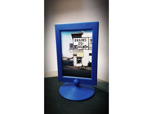double sided picture frame by ayedeyglo thingiverse