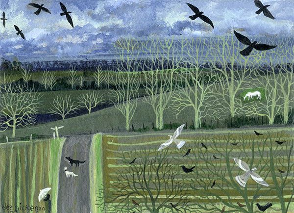 Dee Nickerson - A daggly day, 2015