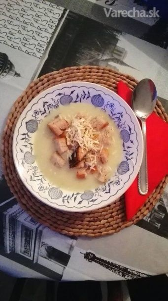 Krémová cesnaková polievka