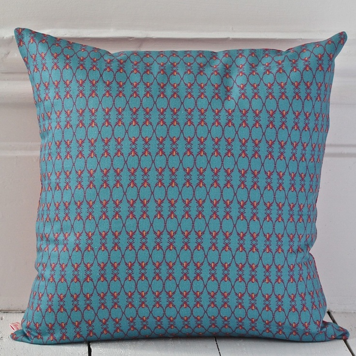 Clementine & Bloom - Polka Dot Beetle Cushion http://www.clementineandbloom.com/