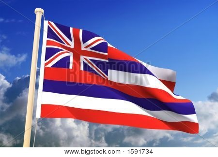 The Hawaii flag is the only US flag to include the British Union Jack as part of its design.