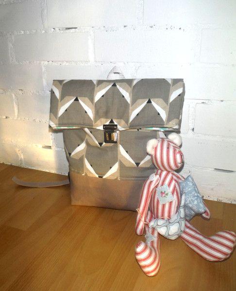 Rucksäcke - Kindergartentasche Rucksack Fuchs - ein Designerstück von Fi-Ma-KiS bei DaWanda