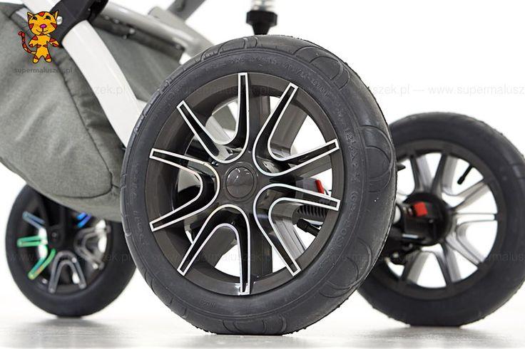 Wózek dziecięcy 3w1 Naxter - koła pompowane, zdobione hologramami.  http://supermaluszek.pl/NaXter_3w1_wozek_dzieciecy  #supermaluszek #wózekdziecięcy #naxter