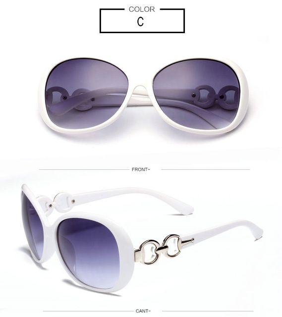 IVE Luxury Sunglasses Women Brand Designer Female Eyewear UV400 Function oculos de sol feminino Free Shipping 9509  C