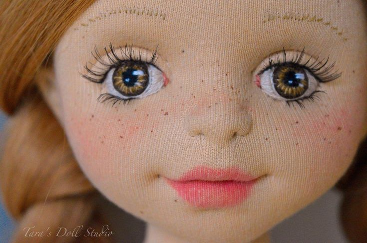 """Andia""- 18"" OOAK Natural Fiber Art Doll by Tara's Doll Studio"