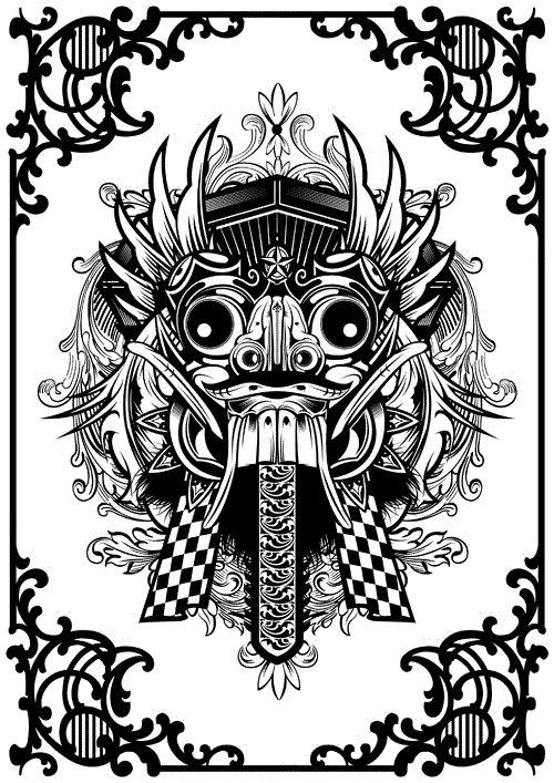 Bali Mask Barong 'Balinese'