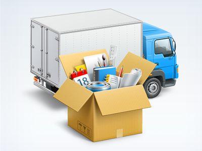 Logistics icon by Artua Design Agency