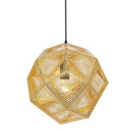 Tom Dixon Etch Brass Pendant Light