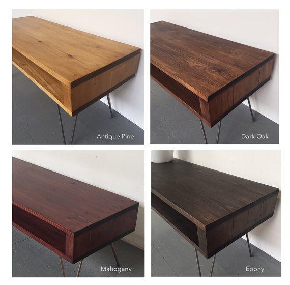 Oldfield Hall Konsole Sideboard Tisch 70cm hoch von DerelictDesign