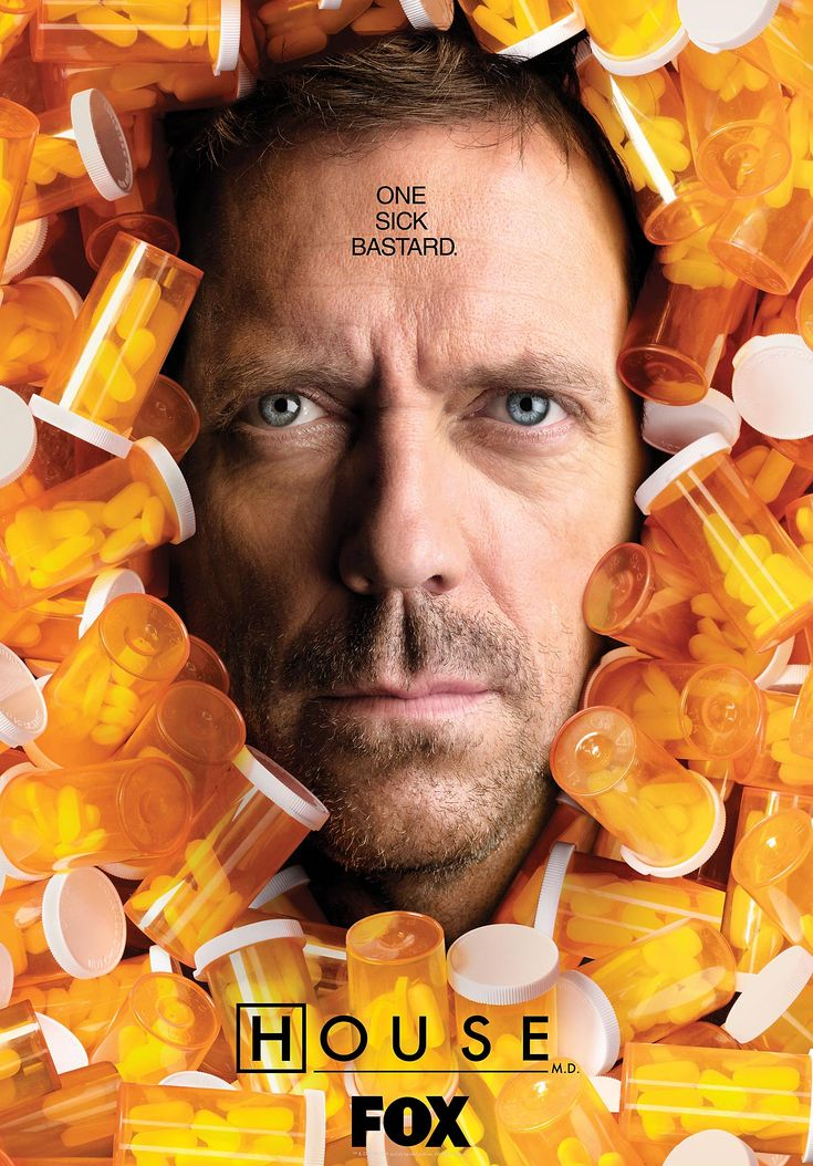 This is a show I desperately need to catch up on.  I haven't watched in seasons, but I adored the character of Dr. Gregory House, and found the show quite fascinating.  I don't even normally watch medical shows.