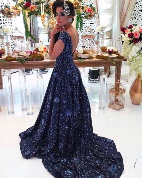 """Everyday is a fashion show and the world is the runway"""" Here's a look at our beautiful model Navjot rocking a showstopper #Wellgroomedinc gown at the @lavishdulhan bridal affair!  Email: sales@wellgroomed.ca"""
