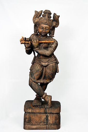 Krishna, the eighth incarnation of Lord Vishnu, when appeared in human form, belonged to cowherd's community of Braj, his birth place (at present area arou...