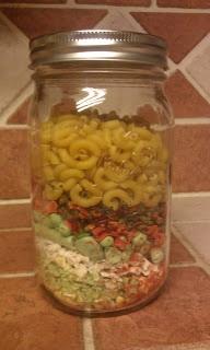 Minestrone Soup in a Jar