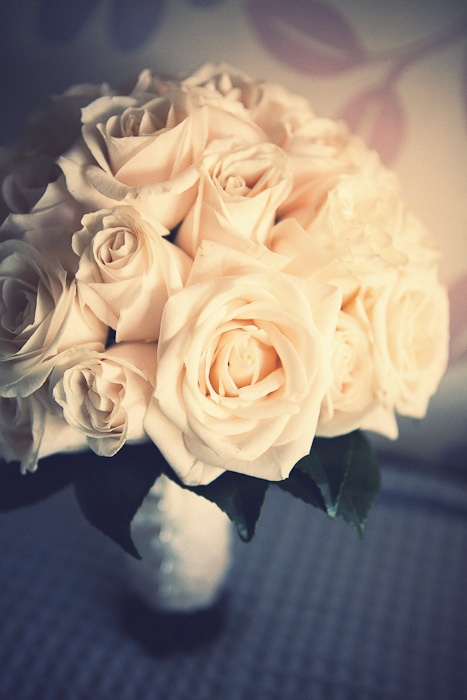 real wedding bouquet