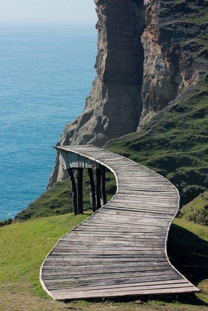 Chiloe, cucao, chile, puente de las almas #beatifulplace