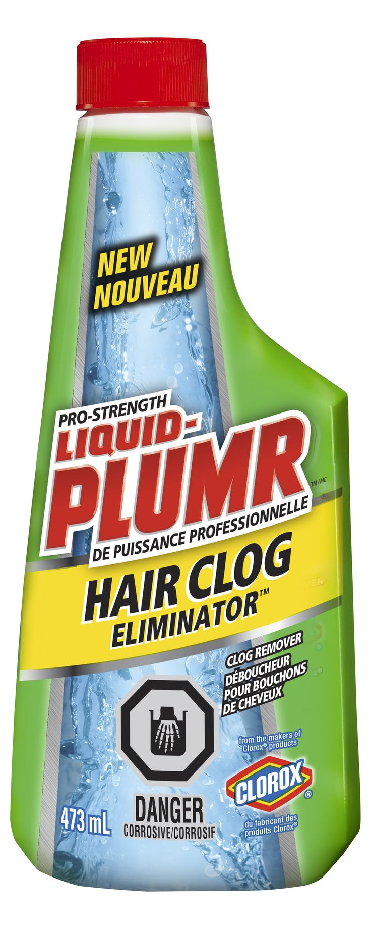 THE CLOROX COMPANY OF CANADA, LTD. / LIQUID-PLUMR®  - Hair Clog Eliminator™