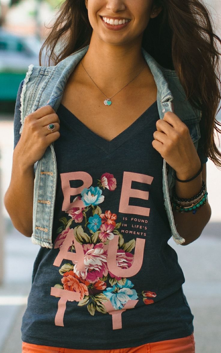 Beauty is found in life's moments, you just have to look for it! This wonderful shirt supports people fighting depression. Pick it up and help at #sevenly