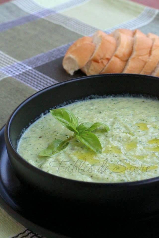 Crema di zucchine e latte ricetta