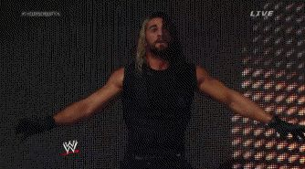 Seth Rollins Suicide Jumping On To Evolution