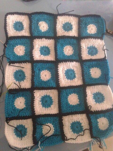 Baby blanket crochet 2