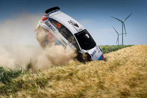 Big Rally Crash by Attila Szabo