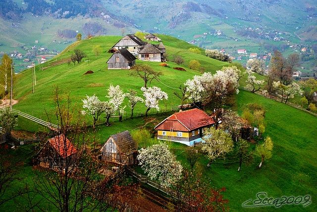 Romania -- Imagine having a view like this in your backyard.....