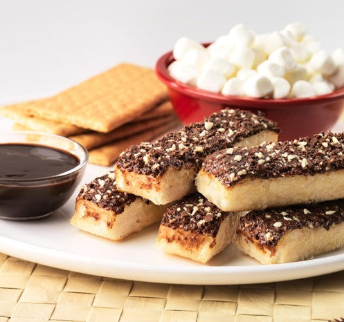 Chocolate Dunkers(R) S'mores Snack how-to from www.pizzahut.com/camp: Foods Drinks, Chocolates Dunkers R, Foods Recipes, Dogs Names, Dogs Types, Food Chocolate I, Dunker S More, Food Thingy, Snacks Drinks