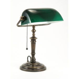 Traditional Bankers Desk Lamps