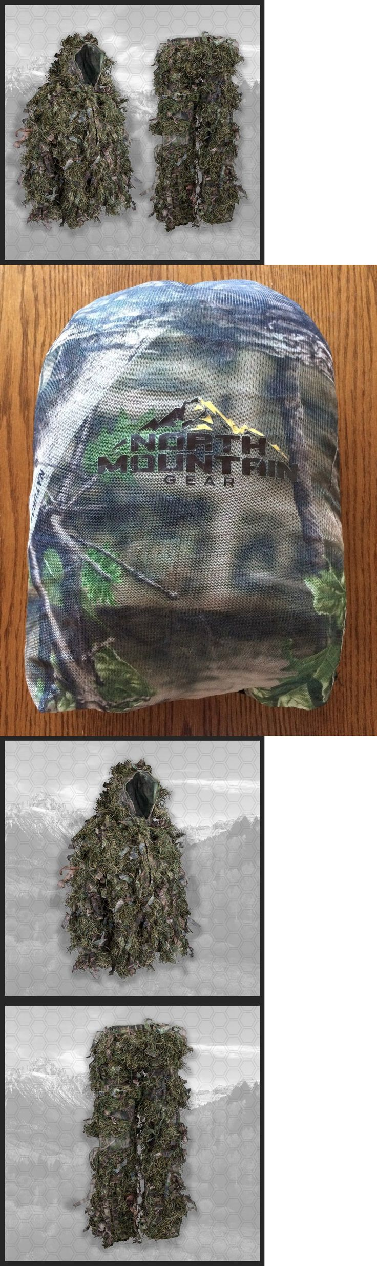 Ghillie Suits 177870: New Hybrid Ghillie Suit North Mtn Gear Hunting Camo Od Foliage Hunters Tactical -> BUY IT NOW ONLY: $69.99 on eBay!