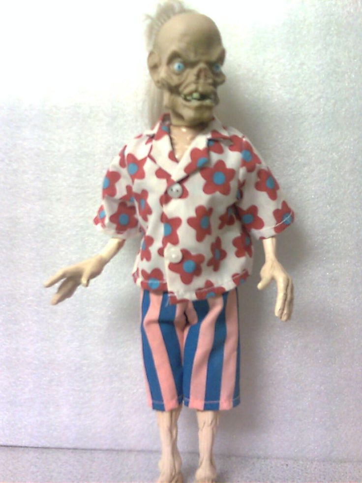 Tales From The Crypt Cryptkeeper Doll Horror Original