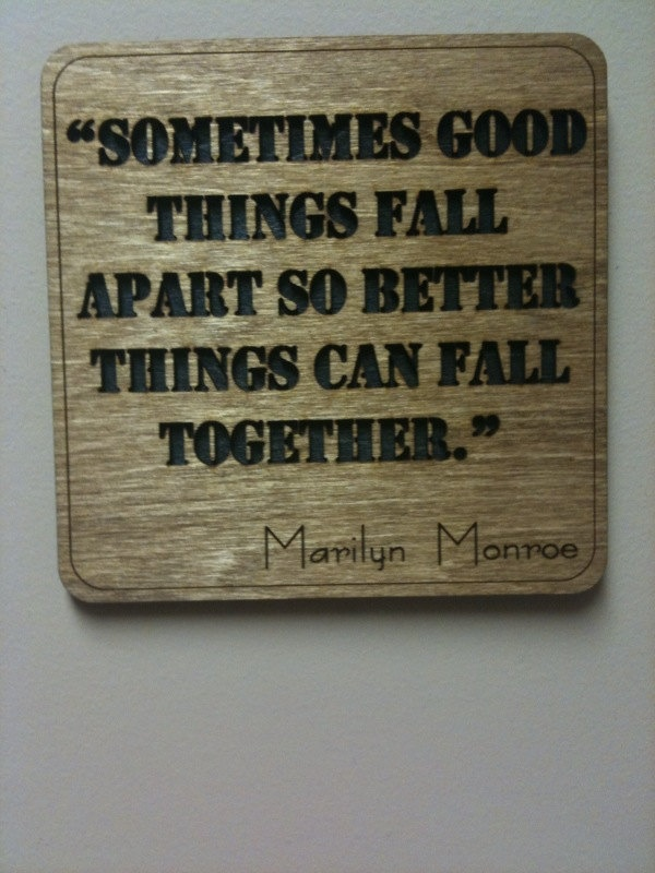 Marilyn Monroe Quote - Wall Art. $10.00, via Etsy.