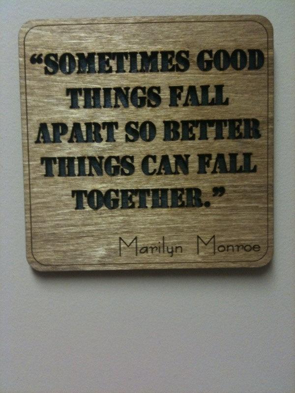 Marilyn Monroe Quote - Wall Art. $10.00, via Etsy.