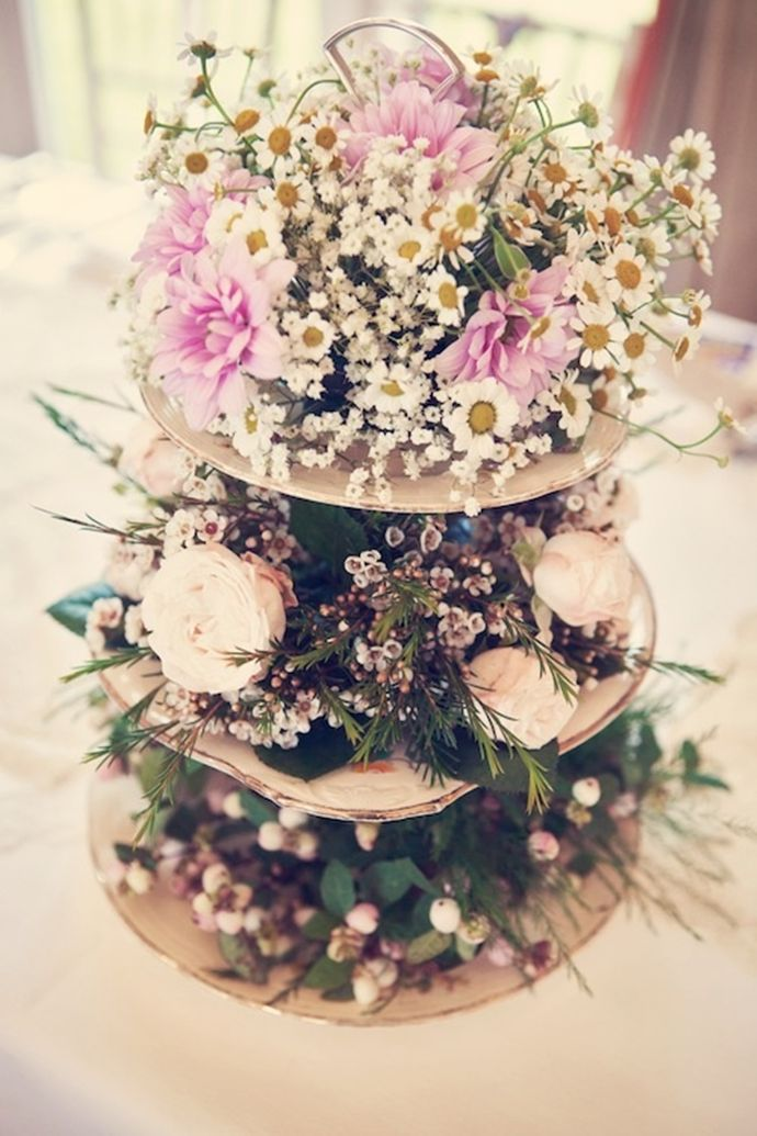 The best images about cake stands for flower arranging