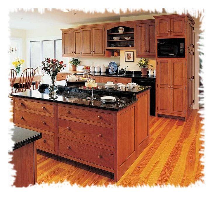 CadKitchenPlans.com | Arts & Crafts, Mission and Shaker Style Kitchens