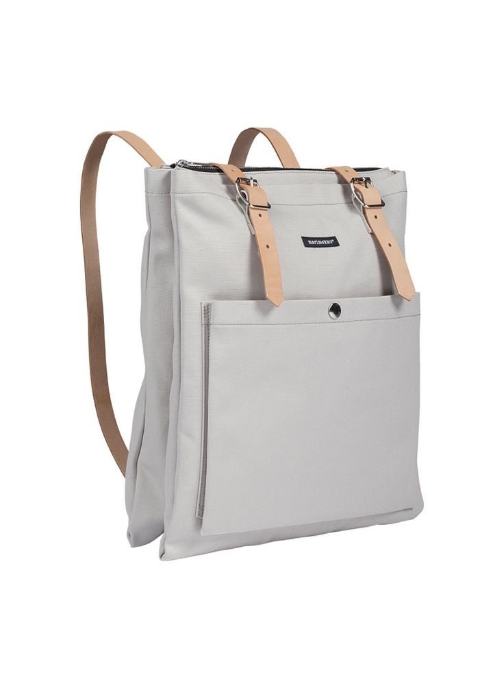 Marimekko Eppu backpack, light grey