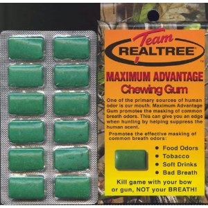 8, BOXES, Team, Realtree, Maximum, Advantage, Chewing Gum, CAMO GUM, CAMOUFLAGE GUM, REAL TREE, 12 PIECES per BOX, Kill, game, with your, bow, or gun, NOT your, BREATH, REAL TREE, GUMS, GUM, Promotes, the, effective, masking, of, common breath odors, food odors, tobacco, soft drinks, bad breath, Chew, 1 piece 20 minutes prior to, hunting, and, every hour thereafter, NEW, IN PACKAGE, [BOOK], UCP758309432205 (Misc.)  http://free.best-gasgrill.com/redirector.php?p=B003VV5LQ8  B003VV5LQ8