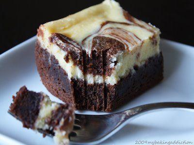 Cheesecake brownies :)