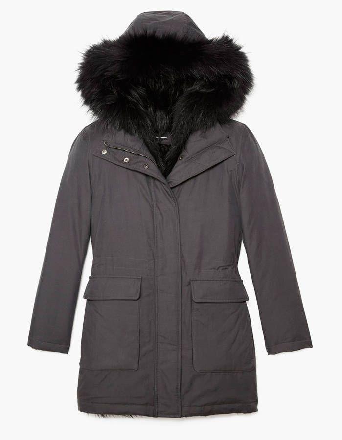 Parka The Kooples - 20 jolies parkas qui nous protègent du froid - Elle
