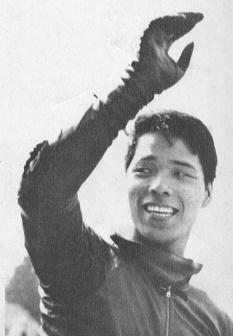 1963 ベルギ-GP250  優勝の伊藤史朗