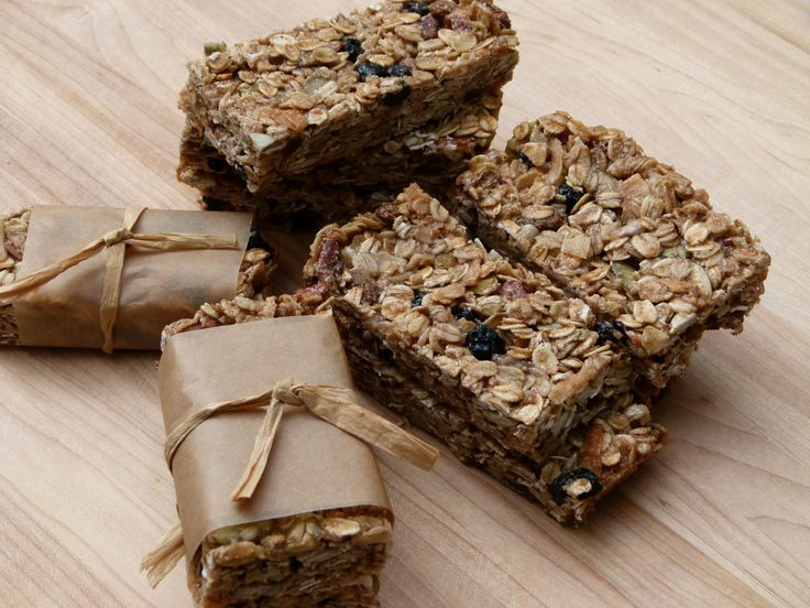 Granol Bars -- no refined sugars!