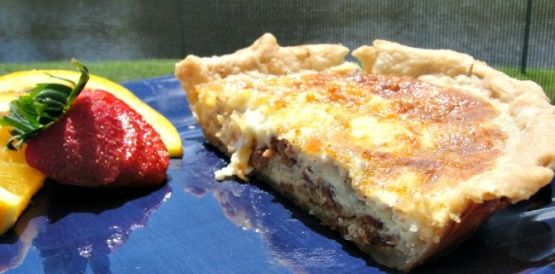 Make and share this Quick Quiche Lorraine recipe from Food.com.