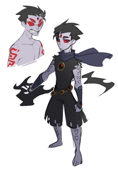 Teen Titans Robin Raven 111