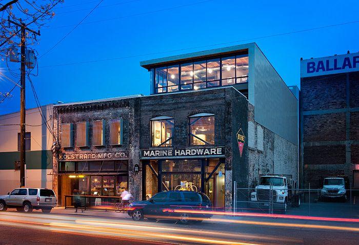 Mixed-use renovation - Kolstrand Building, Seattle