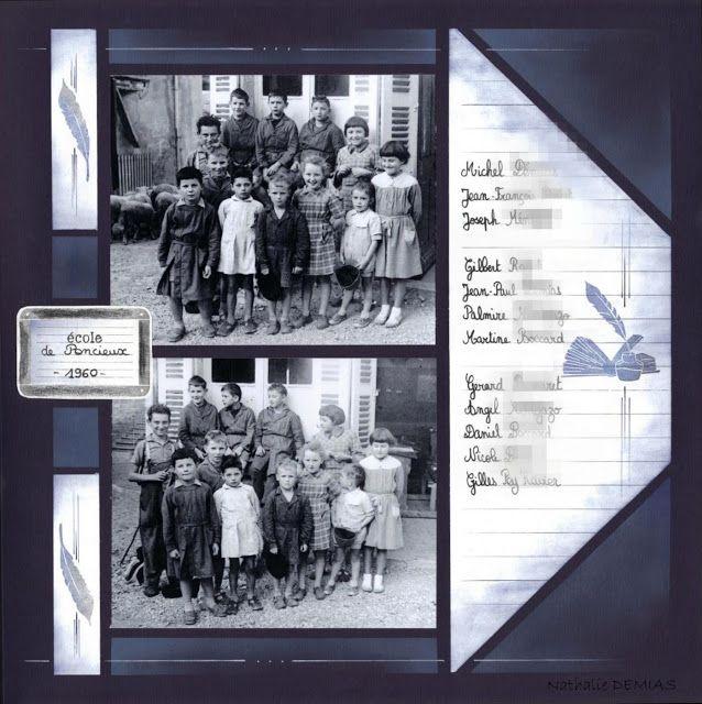 Page réalisée avec le gabarit azza canaries sur le thème de l'école