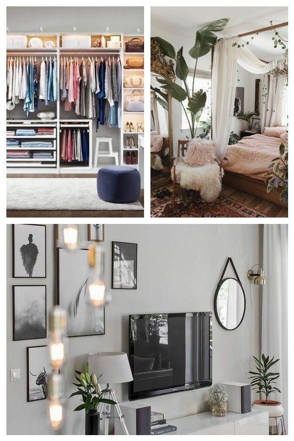 Ordnung Im Schlafzimmer Und Kleiderschrank Mit Ikea