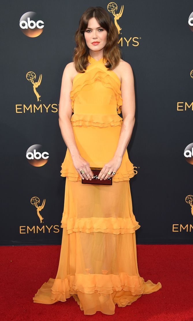 Emmys 2016: Best Dresses of the Night - Mandy Moore in Prabal Gurung