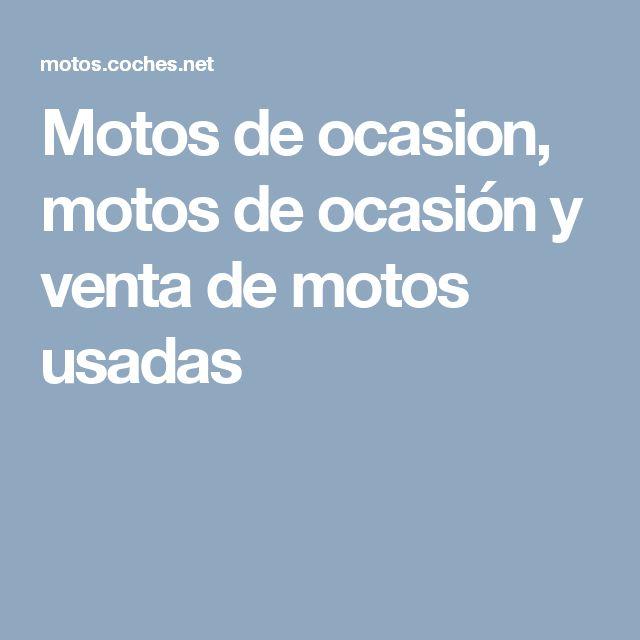 Motos de ocasion, motos de ocasión y venta de motos usadas