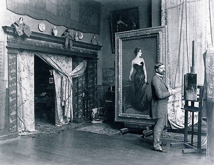 100 Famous Artists And Their Studios - John Singer Sargent