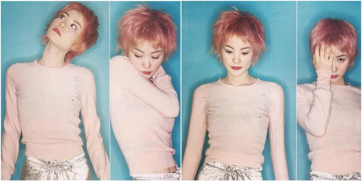 Chinese style icon Faye Wong (photos taken in 1994)