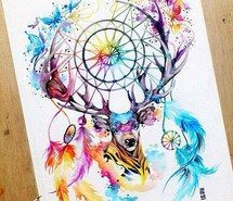 Inspirant de l'image animaux, art, couleurs, dessiné, dessin, attrape-reves #3992269 par Derek_Ye - Résolution 500x500px - Trouver l'image à votre goût